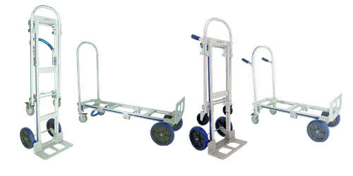 metal cart / bed / multipurpose / two-position