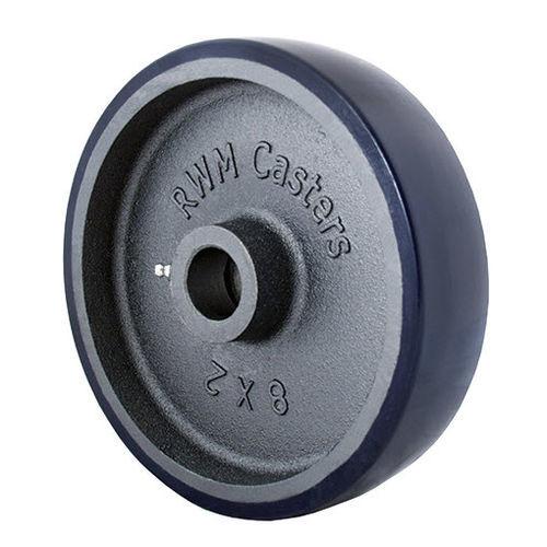 monobloc wheel / cast iron / for heavy loads / non-marking
