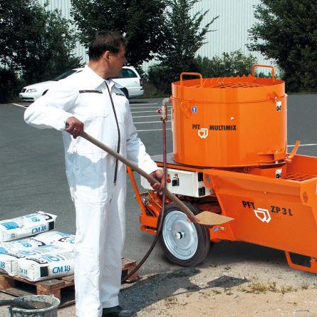 mortar spraying machine / plaster