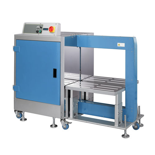 automatic strapping machine / for cartons / for building materials / for parcels