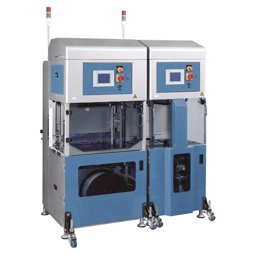fully-automatic strapping machine / for cartons / for magazines and newspapers / for cardboard boxes