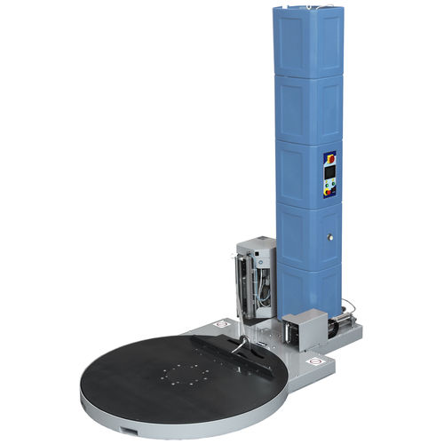 turntable stretch wrapper / automatic / for industrial applications / for furniture