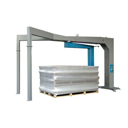 rotary arm stretch wrapper / automatic / for industrial applications / for windows and doors