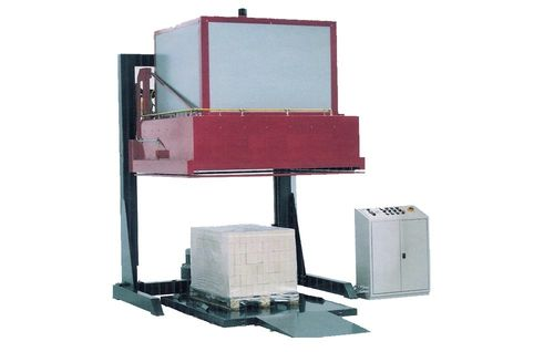 shrink film pallet wrapping machine