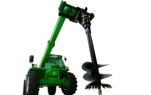 skid steer loader auger / hydraulic