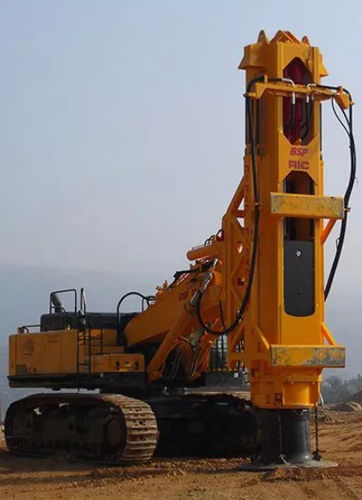 multifunction drilling rig / crawler / rotary / hydraulic