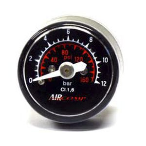 analog pressure gauge / bellows / for air