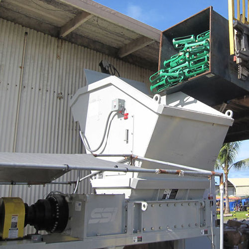 solid & bulk waste shredder
