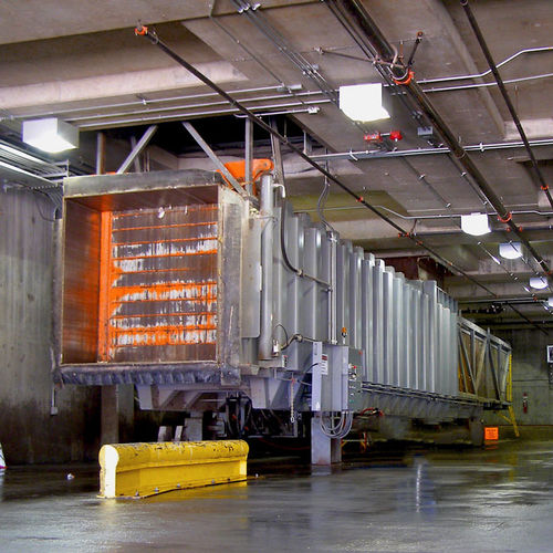 paper waste compactor / scrap / stationary / for transfer stations