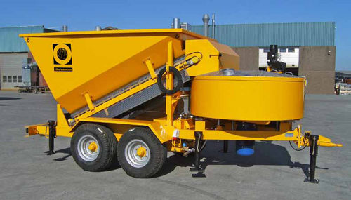 mobile concrete batching plant / compact
