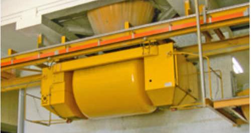 belt conveyor / for precast concrete / automatic / horizontal