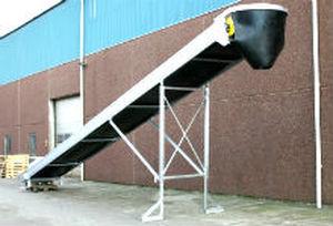 belt conveyor / construction / drum motor / aluminum