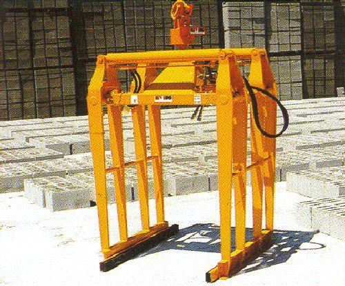 truck crane hydraulic clamp