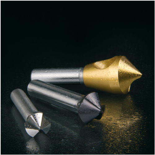 solid milling cutter / for steel / for cast iron / for non-ferrous metals