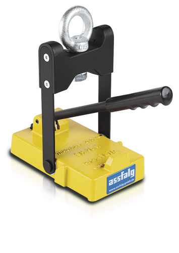 manually switched permanent magnetic lifter / for cranes