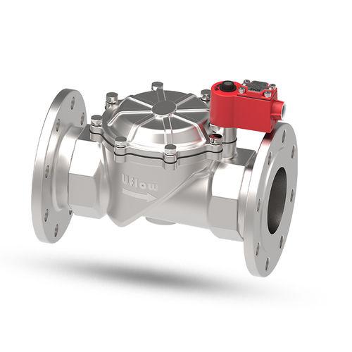 pilot-operated solenoid valve - UFLOW AUTOMATION