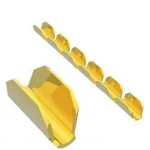 compression solderless terminal / non-insulated / copper / miniature