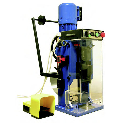 cable end sleeve crimping machine / semi-automatic