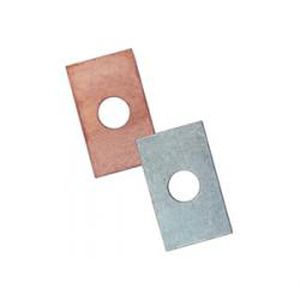 flat washer / copper / aluminum