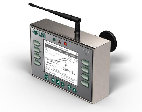 wind speed indicator / LED / panel-mount / for cranes