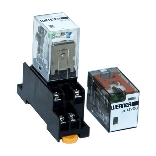 DC electromechanical relay / AC / DPDT / 3PDT
