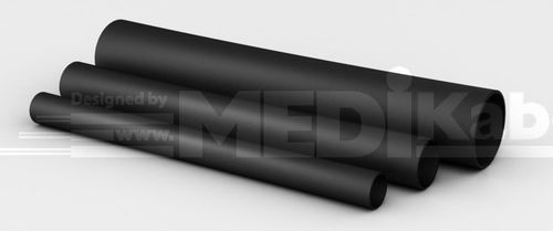 insulating sleeve / tubular / for electrical cables / PVC