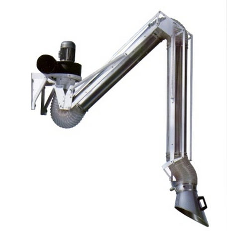 wall-mounted extraction arm