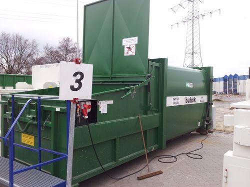 plastic waste compactor