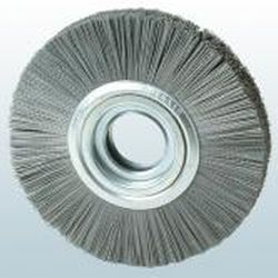 circular brush / weld cleaning / cleaning / deburring