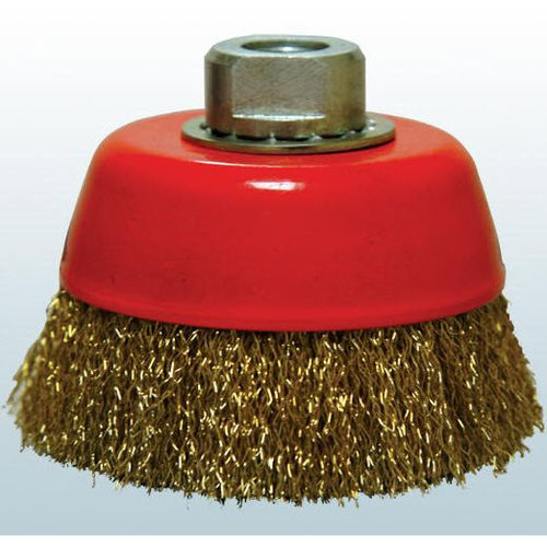 cup brush / cleaning / deburring / for grinding processes