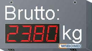 numeric display / indoor / wireless / PROFIBUS