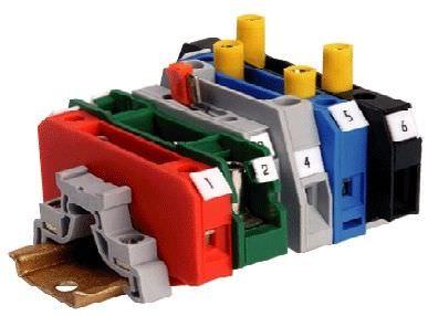 Screw connection terminal block / DIN rail-mounted / panel-mount