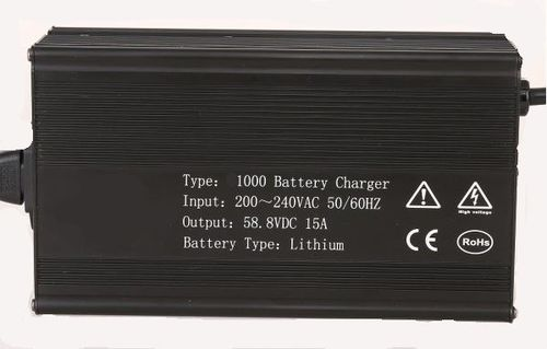 lithium-ion battery charger / lead-acid / portable / plug-in