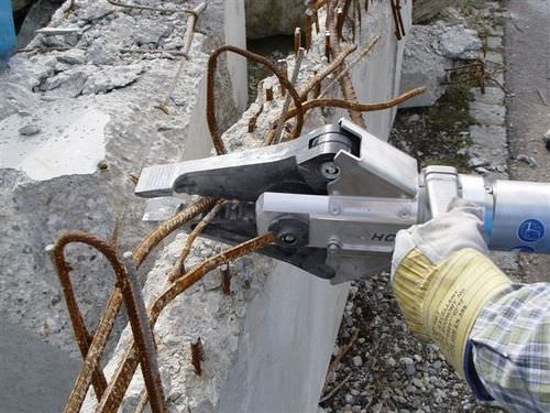 hydraulic demolition shears