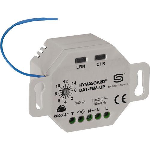 radio receiver / for radio remote control / portable