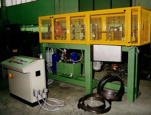 steel ring roll forming line / punching / for bending