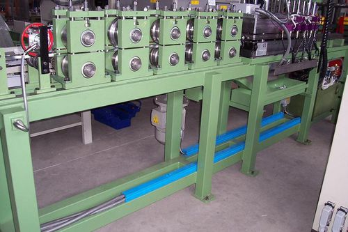 profile roll forming line / automatic / cutting / punching
