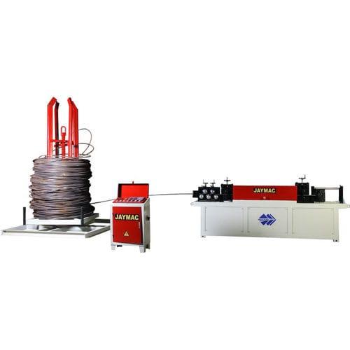 bar straightening and cutting machine / automatic