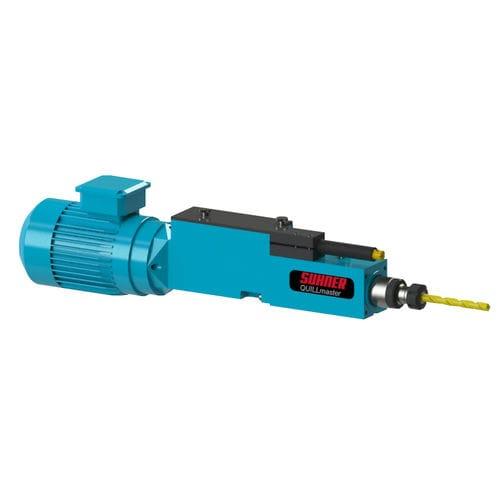 electro-pneumatic drilling unit