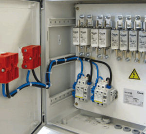 wall-mounted junction box