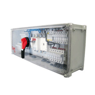 custom electrical enclosure / for photovoltaic applications