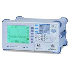 spectrum analyzer / for electrical networks / benchtop / compact