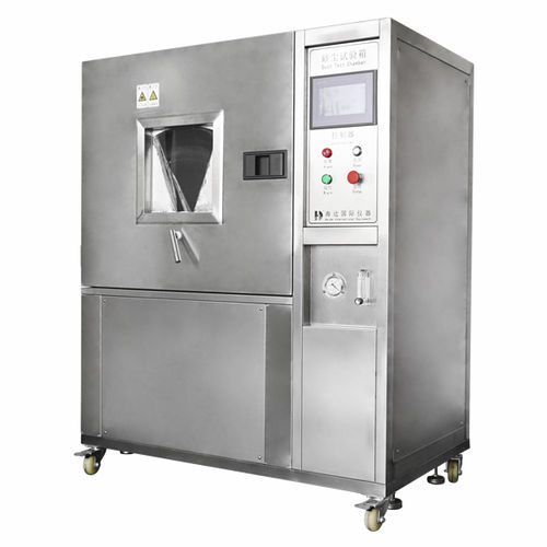 environmental test chamber / dust / for materials testing machines / stainless steel