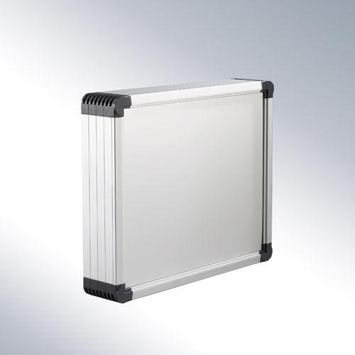 wall-mount enclosure / modular / aluminum / control