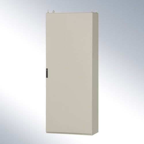 protective cabinet / free-standing / hinged door / sheet steel