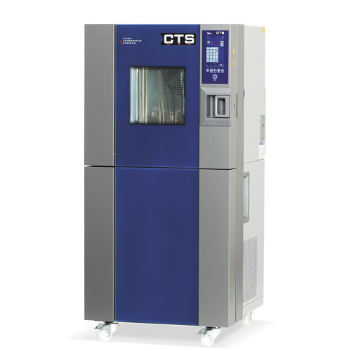 temperature test chamber / with window / stainless steel / modular