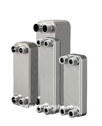 nickel-brazed plate heat exchanger / liquid/liquid / stainless steel / corrosion-resistant