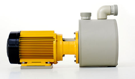 chemical pump / with electric motor / self-priming / centrifugal