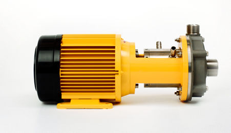 chemical pump / with electric motor / centrifugal / for the food industry