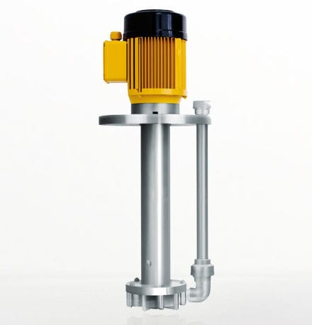 seawater pump / for chemicals / with electric motor / semi-submersible